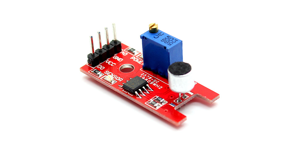 Arduino Compatible Microphone Sound Detection Sensor Shield Module