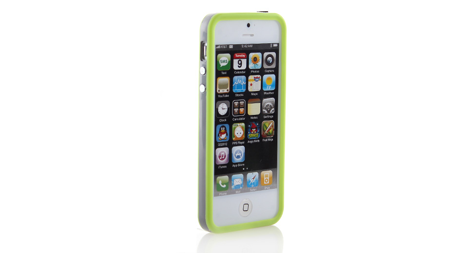 Product Image: protective-pvc-bumper-frame-case-for-iphone-5-gree