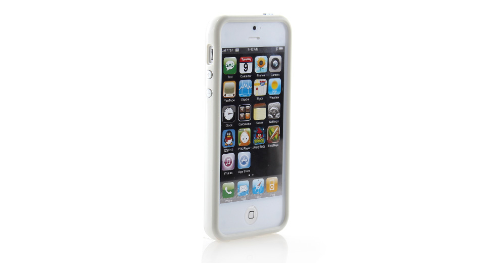 Product Image: protective-pvc-bumper-frame-case-for-iphone-5-grey