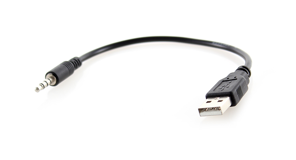 0 97 usb male to 3 5mm audio male plug adapter cable