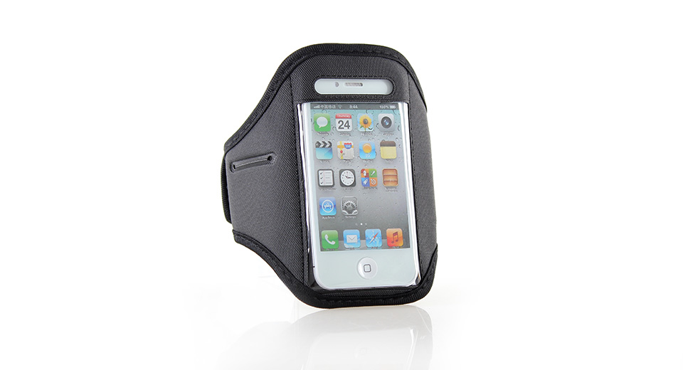 Sport Armband for iPhone 4/4S (Black)