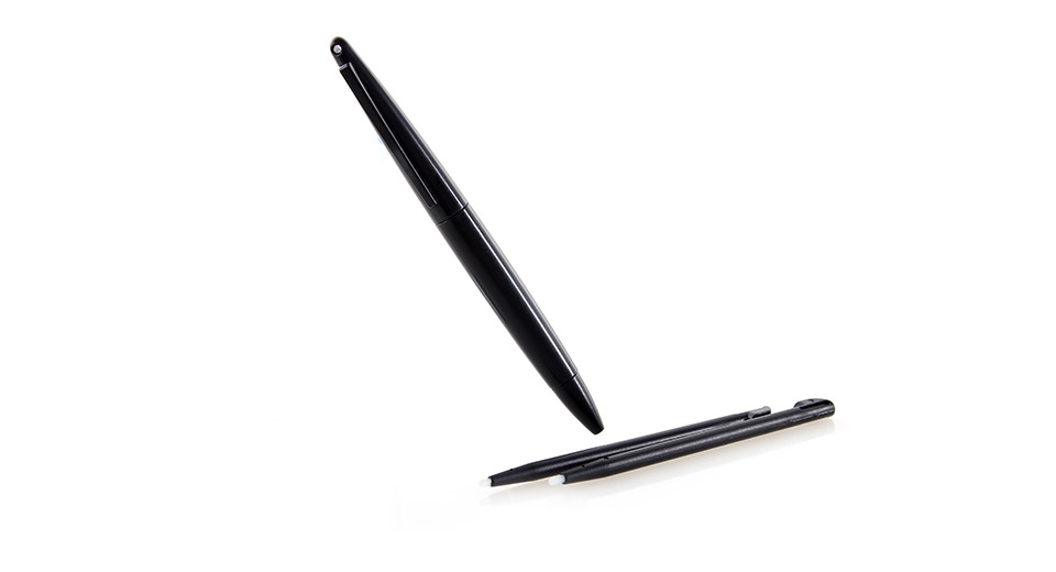 Replacement Stylus + Ball Pen Style Stylus Set for DSi LL - Black (3-Piece Pack)