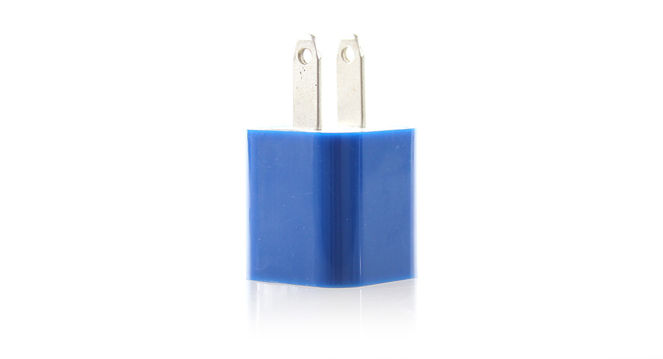 1000mA USB Power Adapter/Wall Charger (Blue)