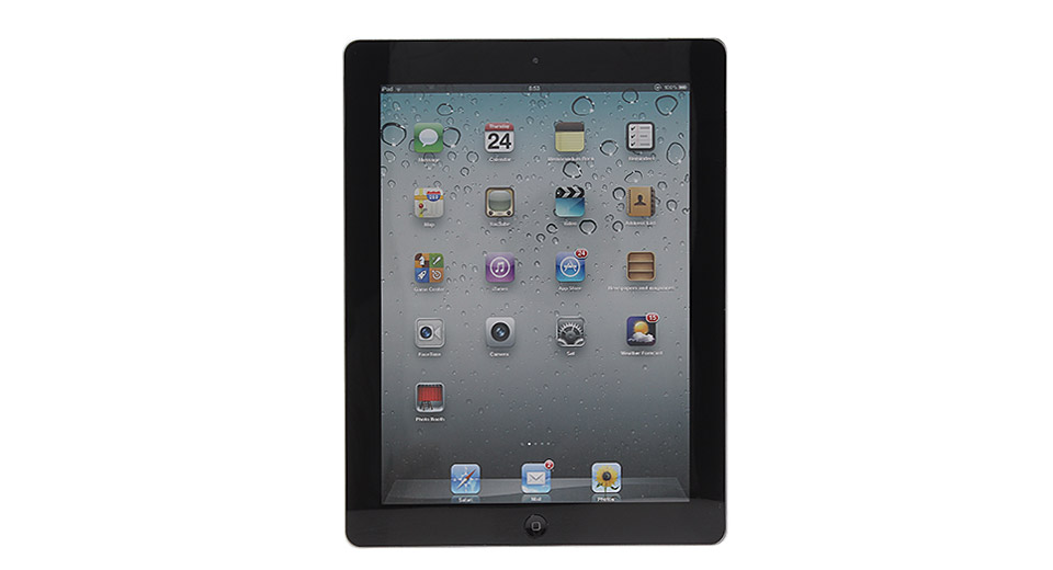 Image of Fake Non Working Display Dummy iPad 2 Sample Model (Black)
