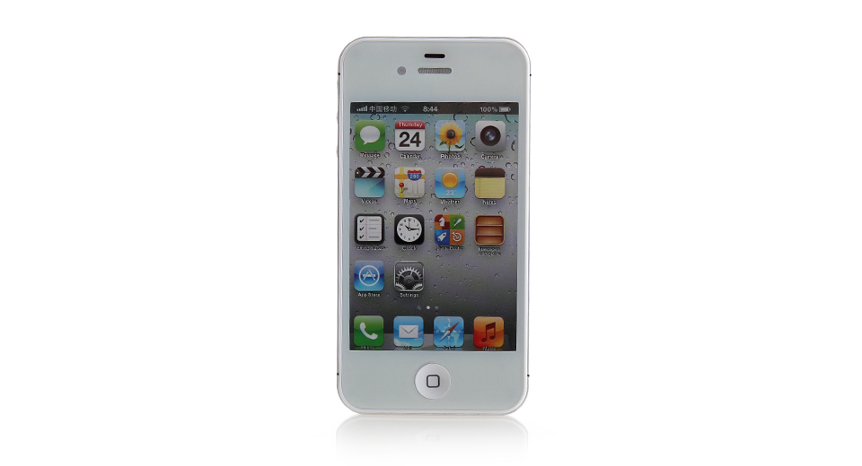 Image of Fake Non Working Display Dummy iPhone 4S Sample Model (White)