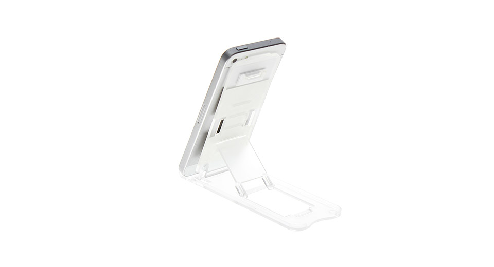 Product Image: pvc-foldable-holder-stand-for-iphone-5-white