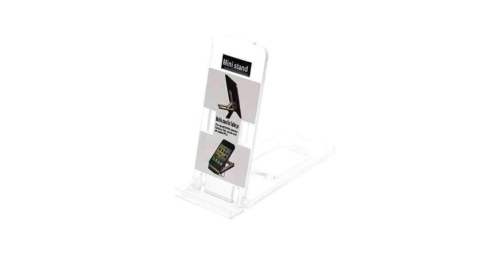Product Image: pvc-foldable-holder-stand-for-iphone-5-grey