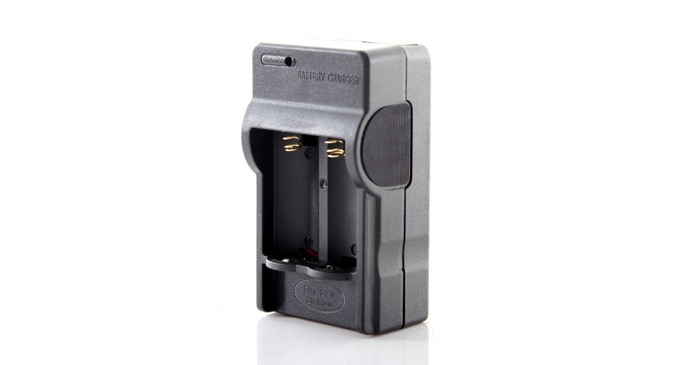 Portable Digital Battery Charger for CR123A Rechargeable Batteries