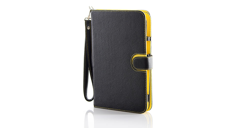 "Image of 2-in-1 Detachable Universal Protective Leather Cover and Case for 7"" Tablet (Black)"