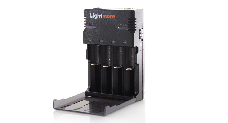 Lightmore Q-128 Battery Charger for 18650 / 16340 / 14500 / 10440 Battery