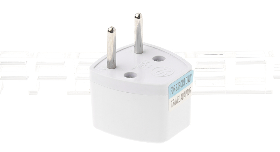 Universal EU Travel AC Power Adapter Plug