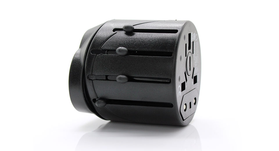 Universal Power Travel AC Adapter (Push/Pull Out)
