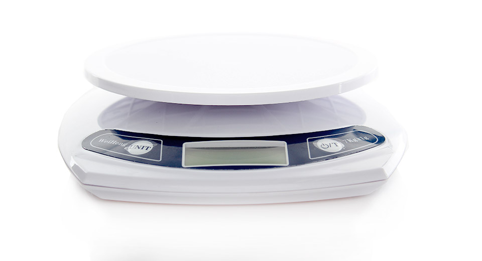 1 7 lcd electronic digital kitchen scale 2 x aaa 7kg max
