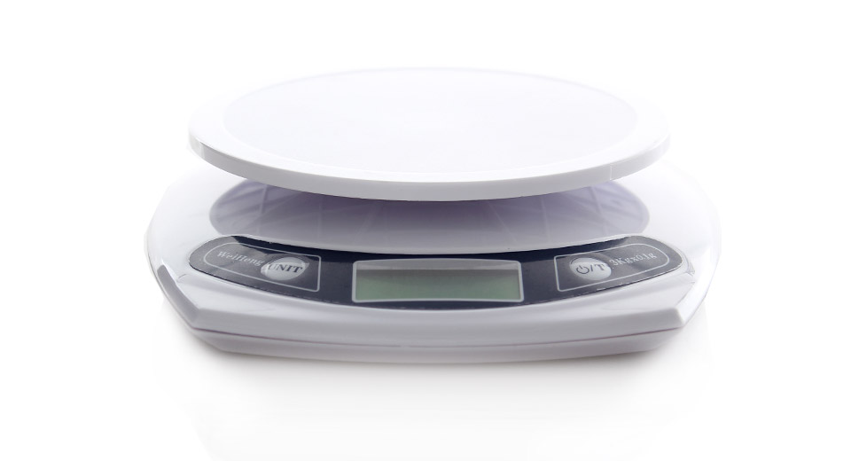 1 7 lcd electronic digital kitchen scale 2 x aaa 3kg max