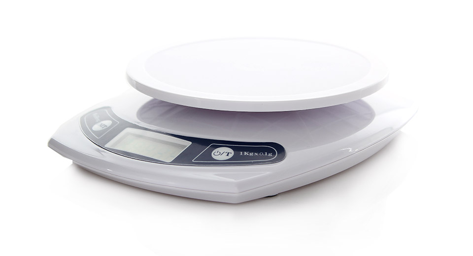 "Image of 1.7"" LCD Electronic Digital Kitchen Scale (1kg Max)"