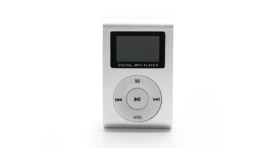 "Image of 0.9"" LCD USB Rechargeable Mini MP3 Player"