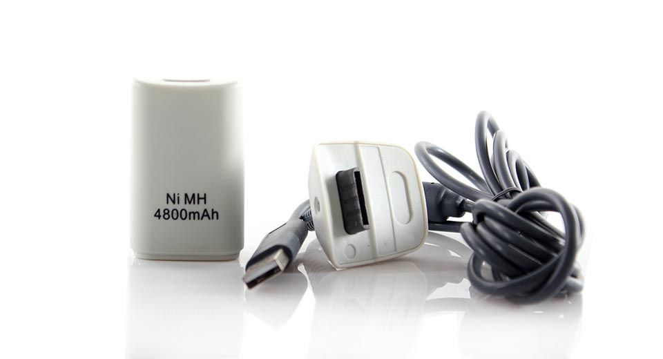 4800mAh Rechargeable Battery for Xbox 360 Wireless Controller