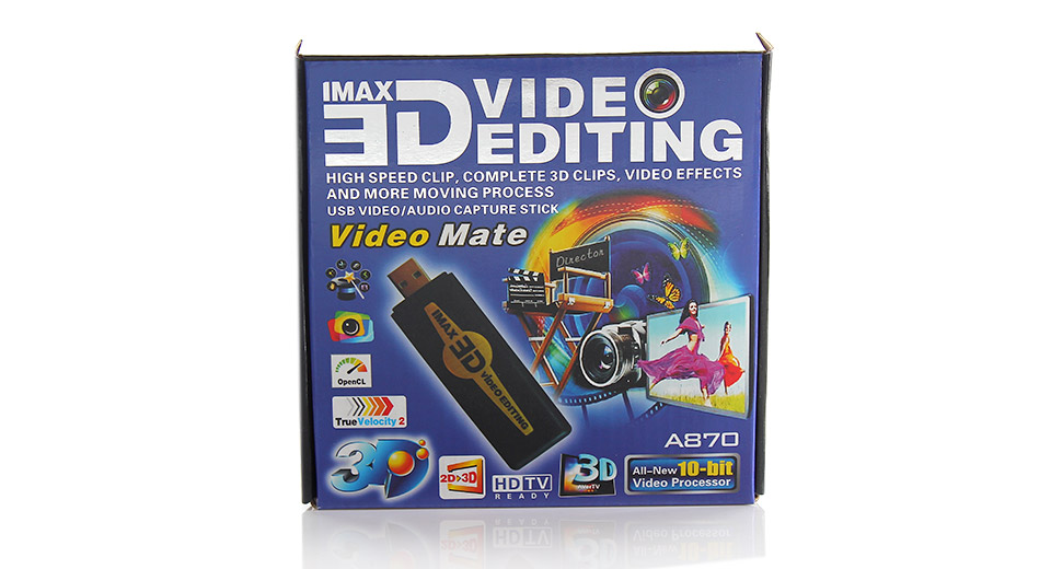 IMAX 3D Video Capture Stick / USB Dongle
