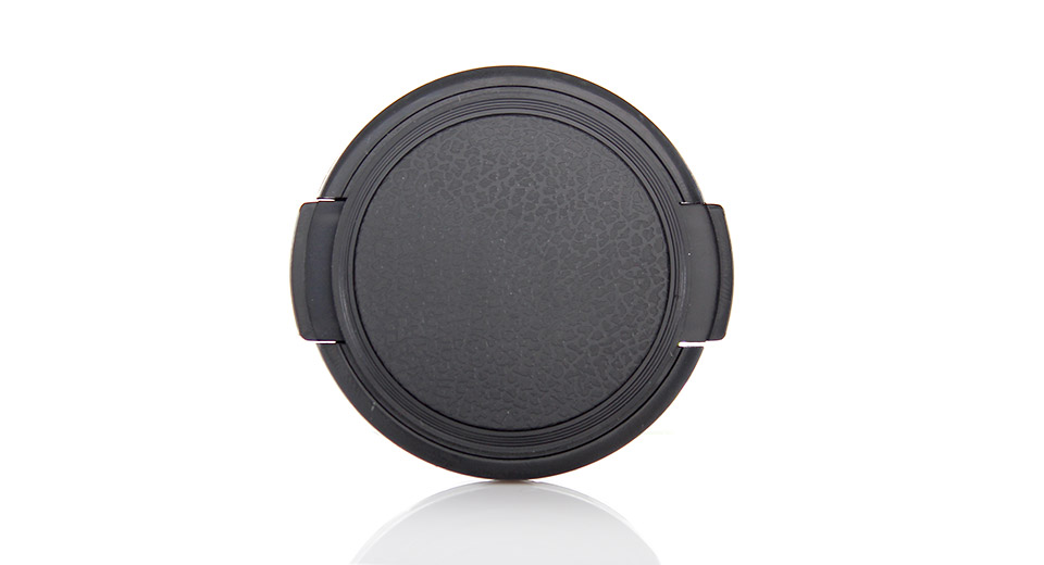 Snap-on Universal Camera Lens Cap Cover (49mm)