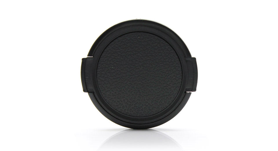Snap-on Universal Camera Lens Cap Cover (52mm)