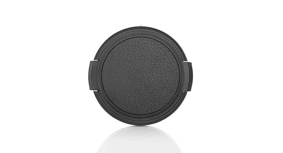 Snap-on Universal Camera Lens Cap Cover (55mm)