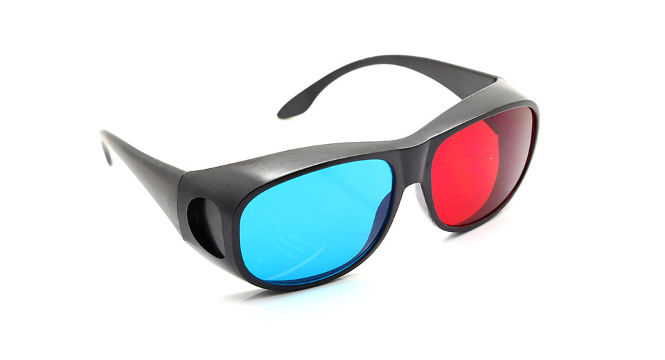 Image of Anaglyphic Red + Cyan 3D Glasses