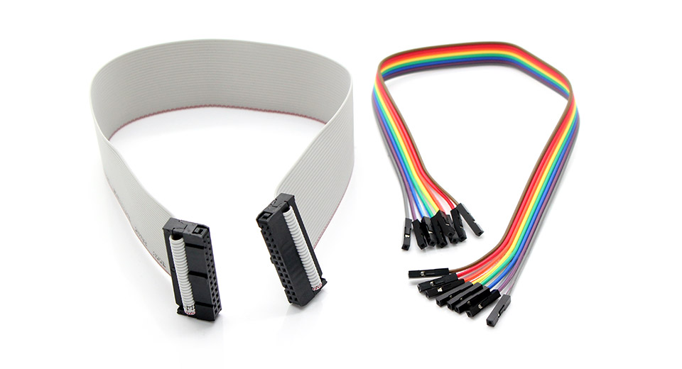 2 95 26 Pin Gpio Ribbon Cable Jumper Wires For