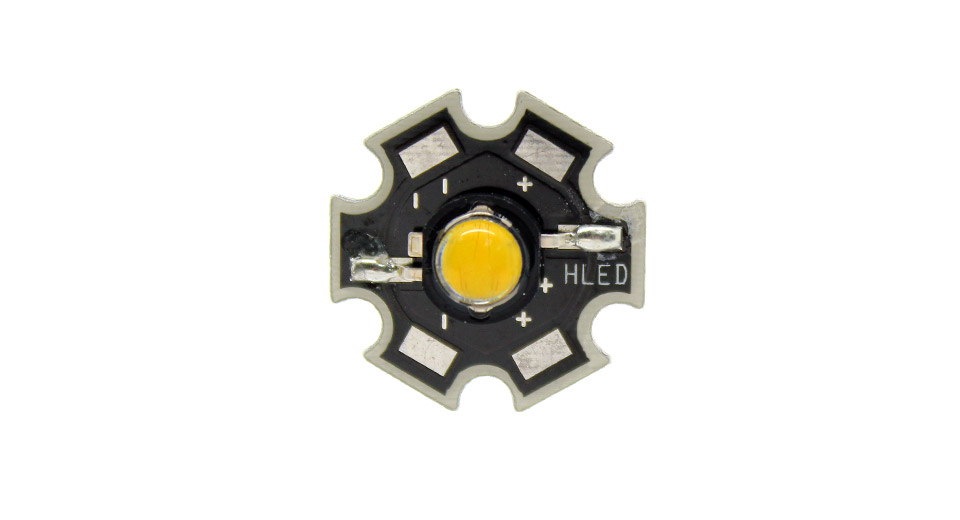 5W 240LM 3500K Warm White Light LED Emitter on Star
