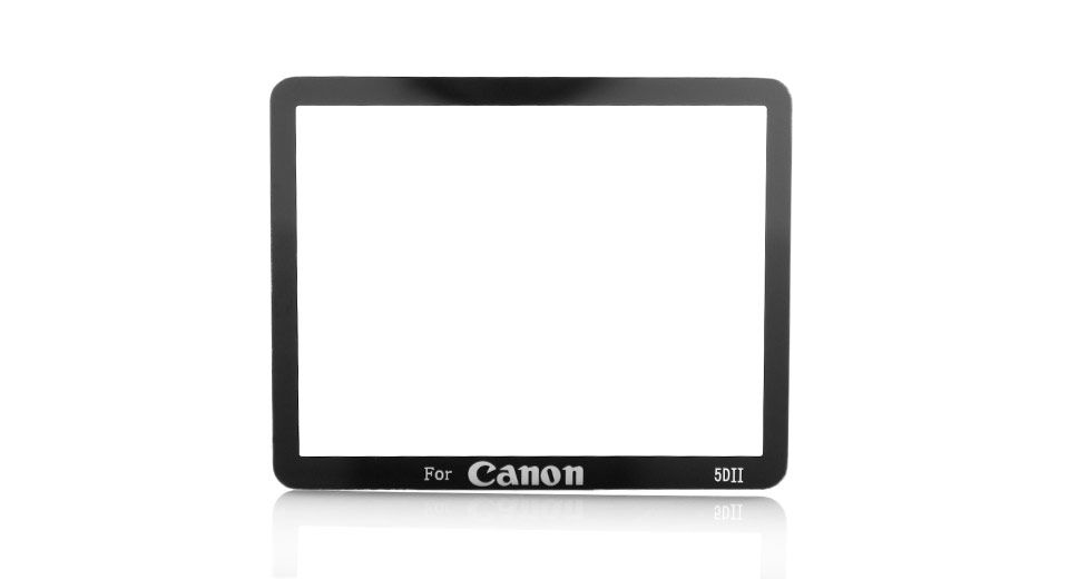 Professional Optical Glass LCD Screen Protector for Canon 5DII
