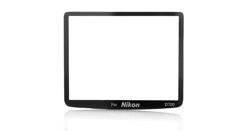 Professional Optical Glass LCD Screen Protector for Nikon D700