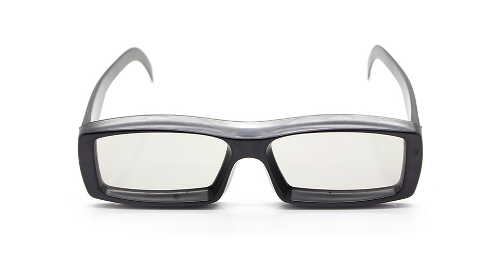 Non-Flash Circularly Polarized 3D Glasses