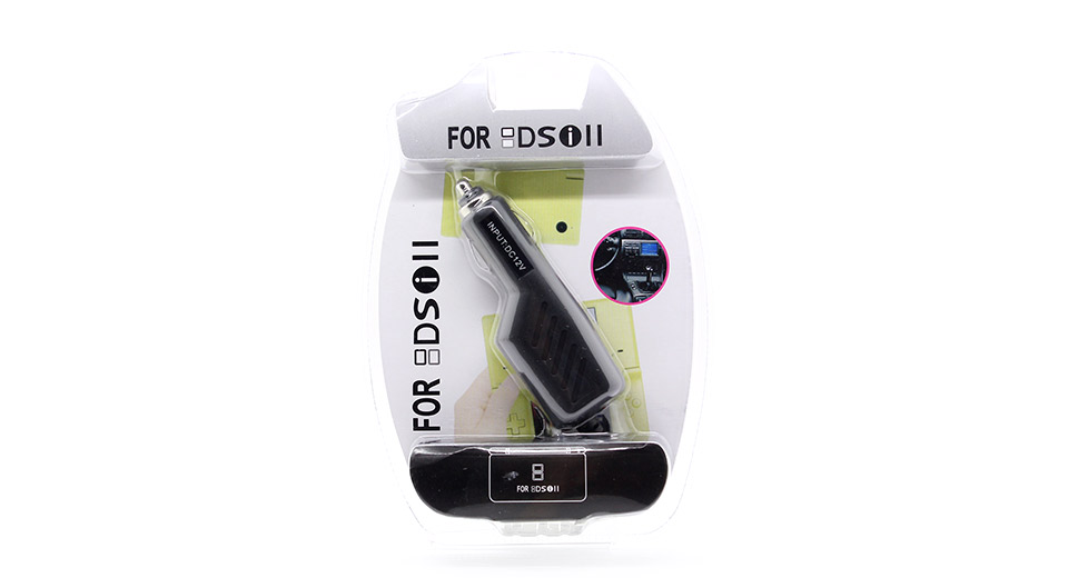 Car Charger Adapter for DSi / DSi LL / DSi XL / 3DS