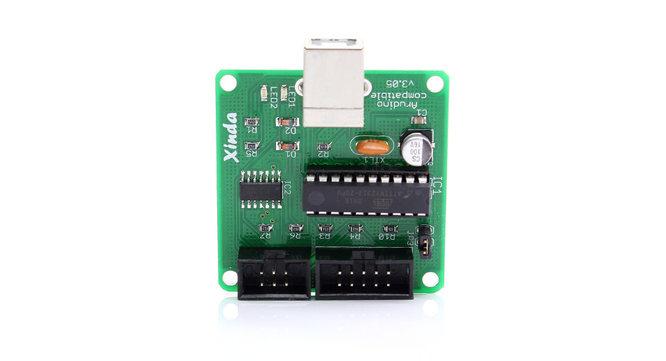 DIY Electronics 1115600 USBtinyISP AVR Atmel programmer for Arduino Compatible Bootloader