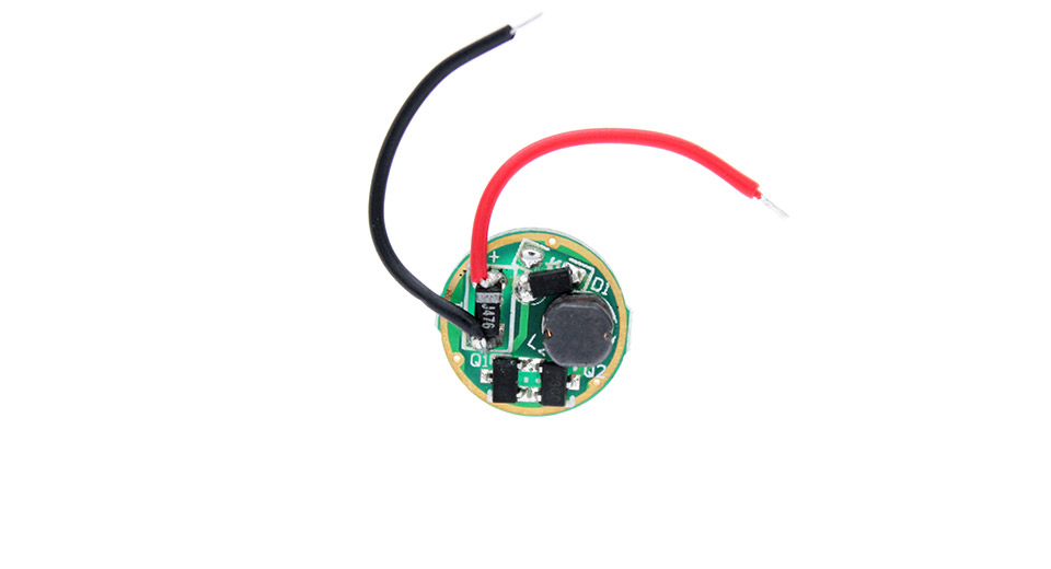 Image of 1* AA/AAA 1-Mode 550mA Linear Booster LED Flashlight Driver Circuit (Nanjg 102)