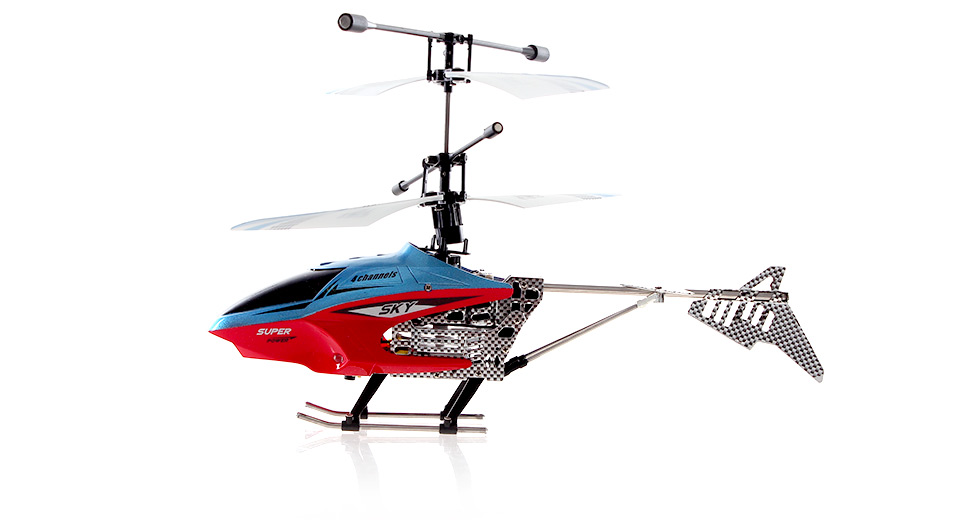 USB Rechargeable 2.4GHz 4-Channel R/C Helicopter with Gyroscope