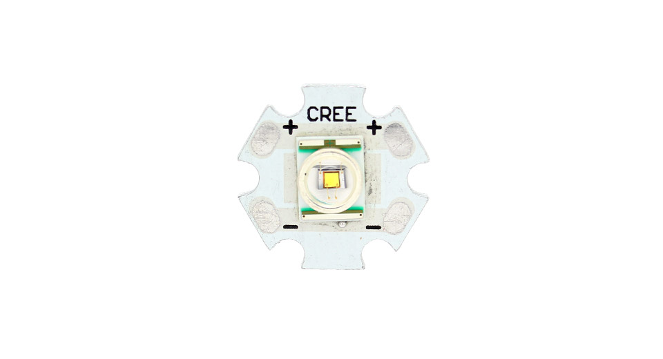 CREE XR-E White LED Emitter on 20mm Star