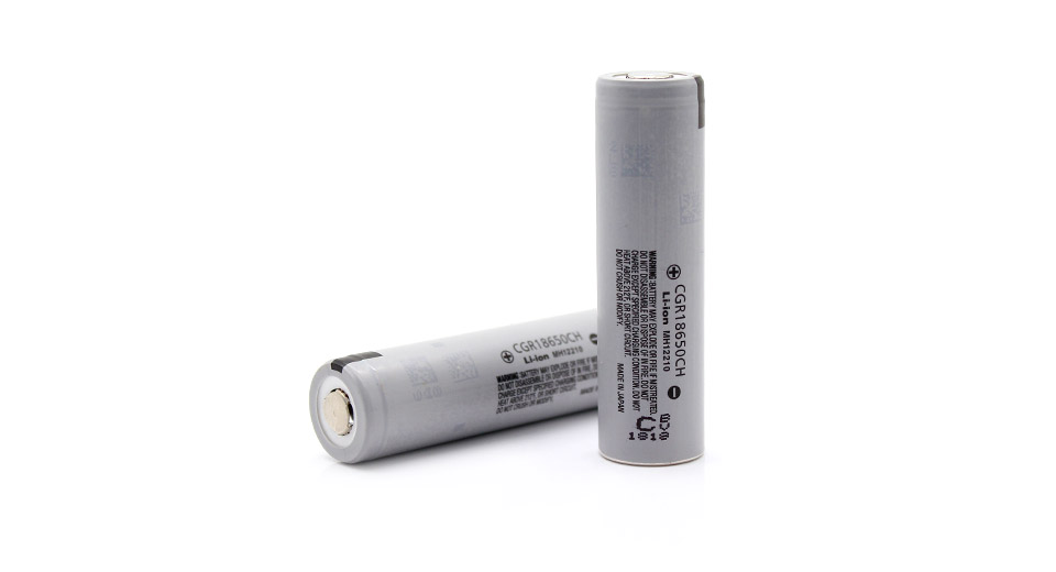 Panasonic CGR18650CH Rechargeable 2250mAh 3.7V 18650 Lithium Batteries