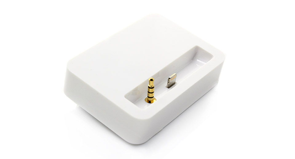 7 53 8 Pin Data Charging Docking Station With 3 5mm