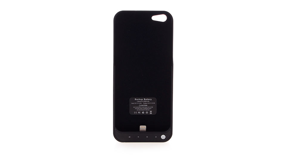 Product Image: 2000mah-rechargeable-black-external-battery-back