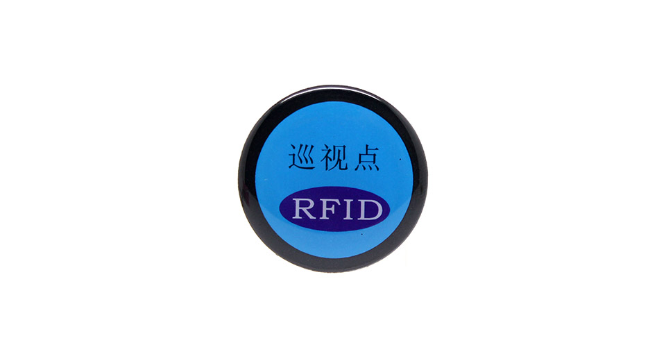 Rewritable Programmable NXP Mifare NFC Tag Tag: Self-adhesive Magnet Insensitive Button