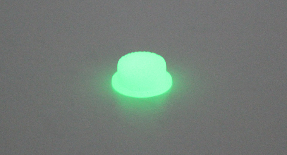 Image of GITD Silicone Tailcaps (5-Pack)