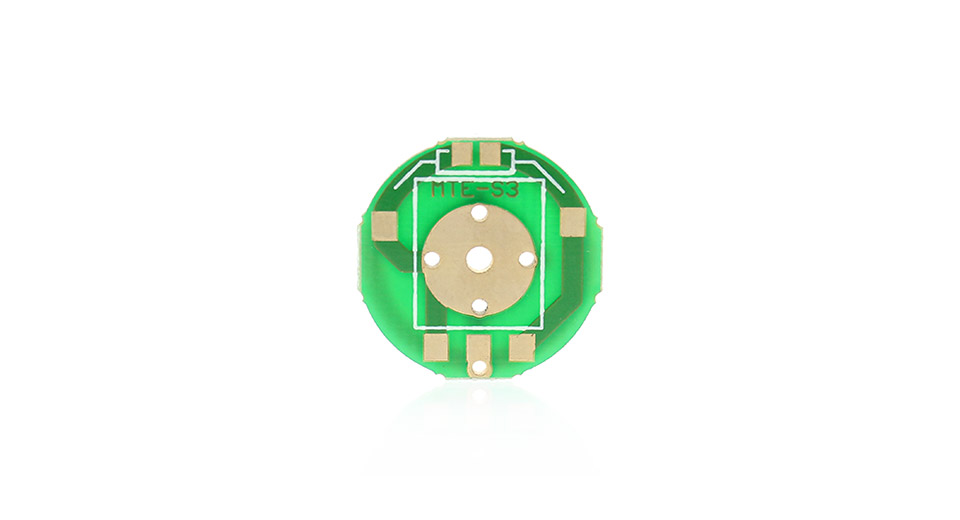 Image of 20.5mm Pushbutton Switch Printed PCB Board for Flashlights (5-Pack)