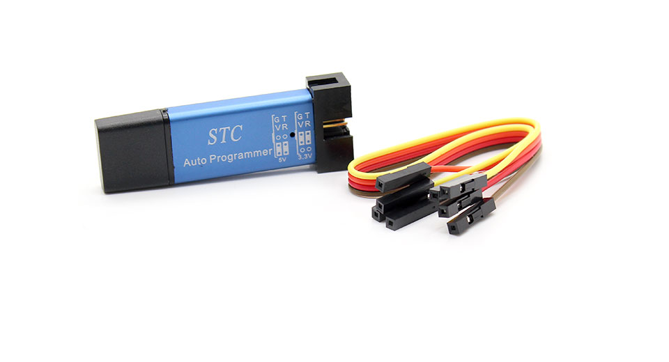 DIY Electronics 1208102 USB to TTL 5V 3.3V STC Download Cable