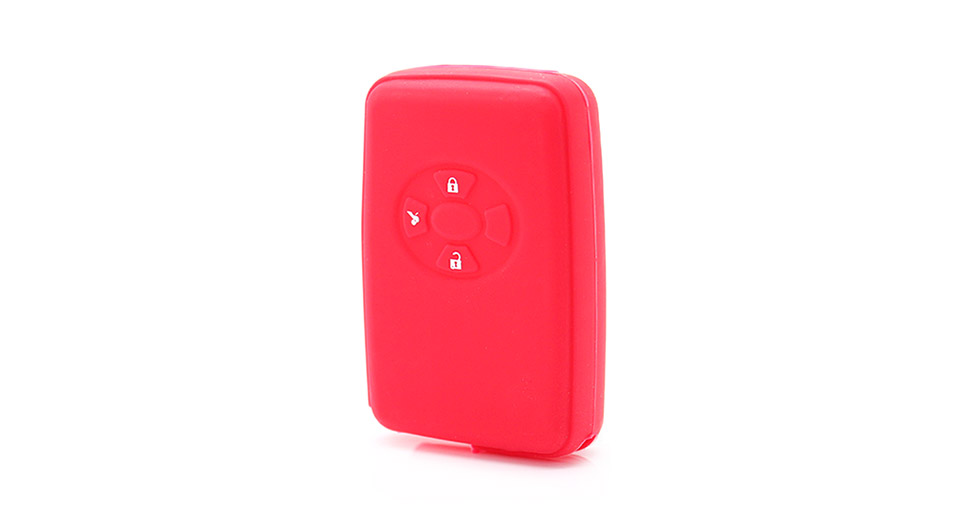 Protective Silicone Case for Toyota/Lexus 3-Button Remote Key Fob