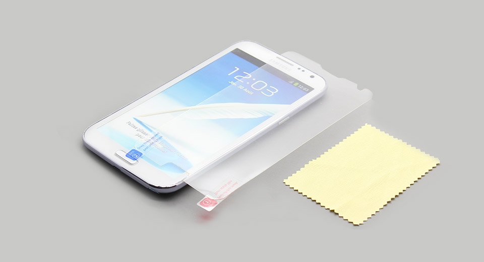 Image of Clear Screen Protector Guard for Samsung Galaxy Note II