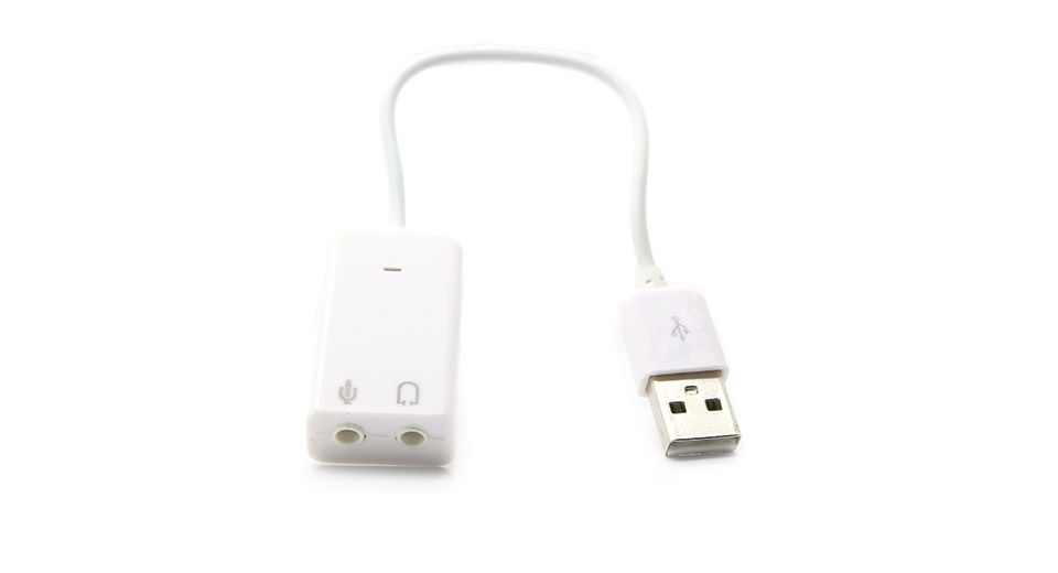 USB2.0 Virtual 7.1 Channel External Sound Card Adapter