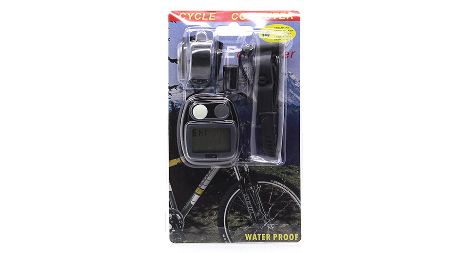 SUNDING Waterproof Bicycle Trip Computer