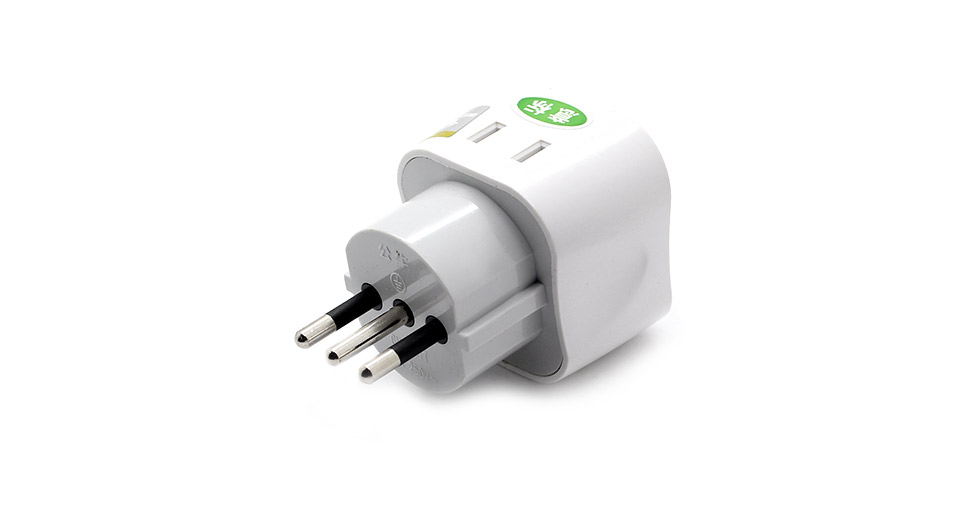 10A Authentic BULL Universal Italy Travel AC Power Adapter Plug