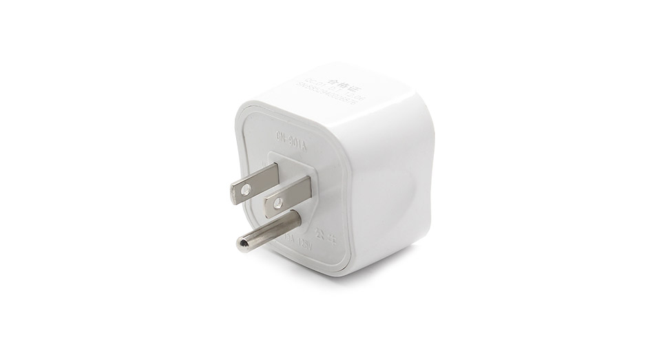 15A BULL Universal US Travel AC Power Adapter Plug