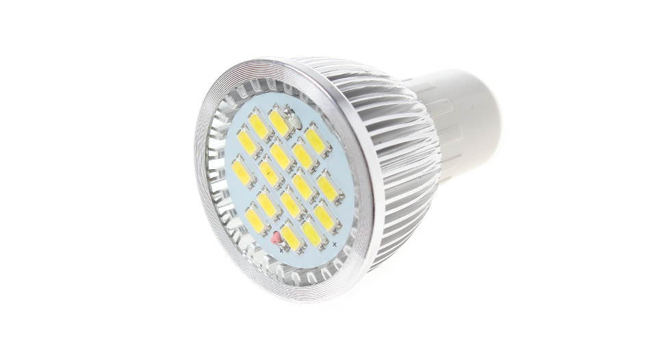 MR16/GU5.3 7W 15-LED 600LM 6500K White LED Spot Light Bulb 7W, 15*SMD, 600LM, 6500K